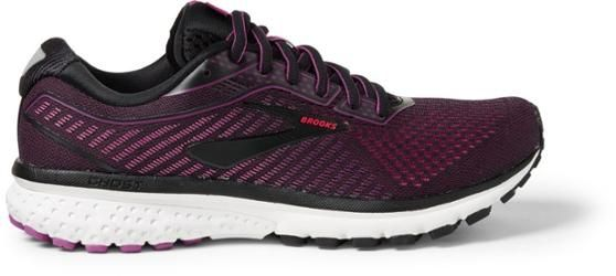 Brooks Women's Ghost 12 Road-Running Shoes Black/hollyhock 10.5 Wide Brooks Women's Ghost 12 Road-Running Shoes Black/Hollyhock 10.5 Wide Woman Shoes 12 shoes every woman needs