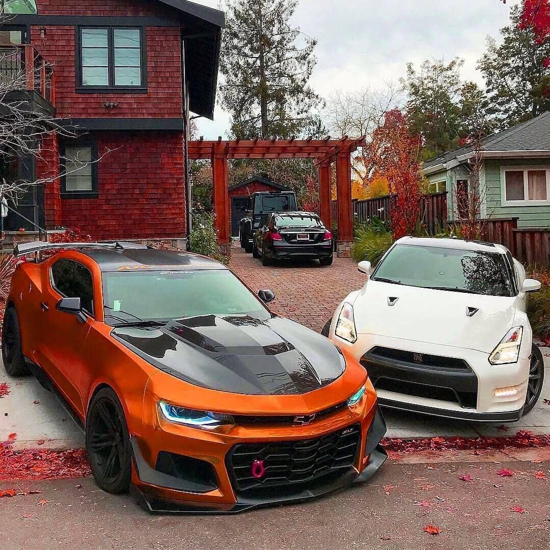 Chevrolet Camaro Zl1 Le Vs Nissan Gtr Follow Supercarsbuzz For More Credits Moezl1le Camaro Nissangtr Sport Cars Car Photos Hd Amazing Cars