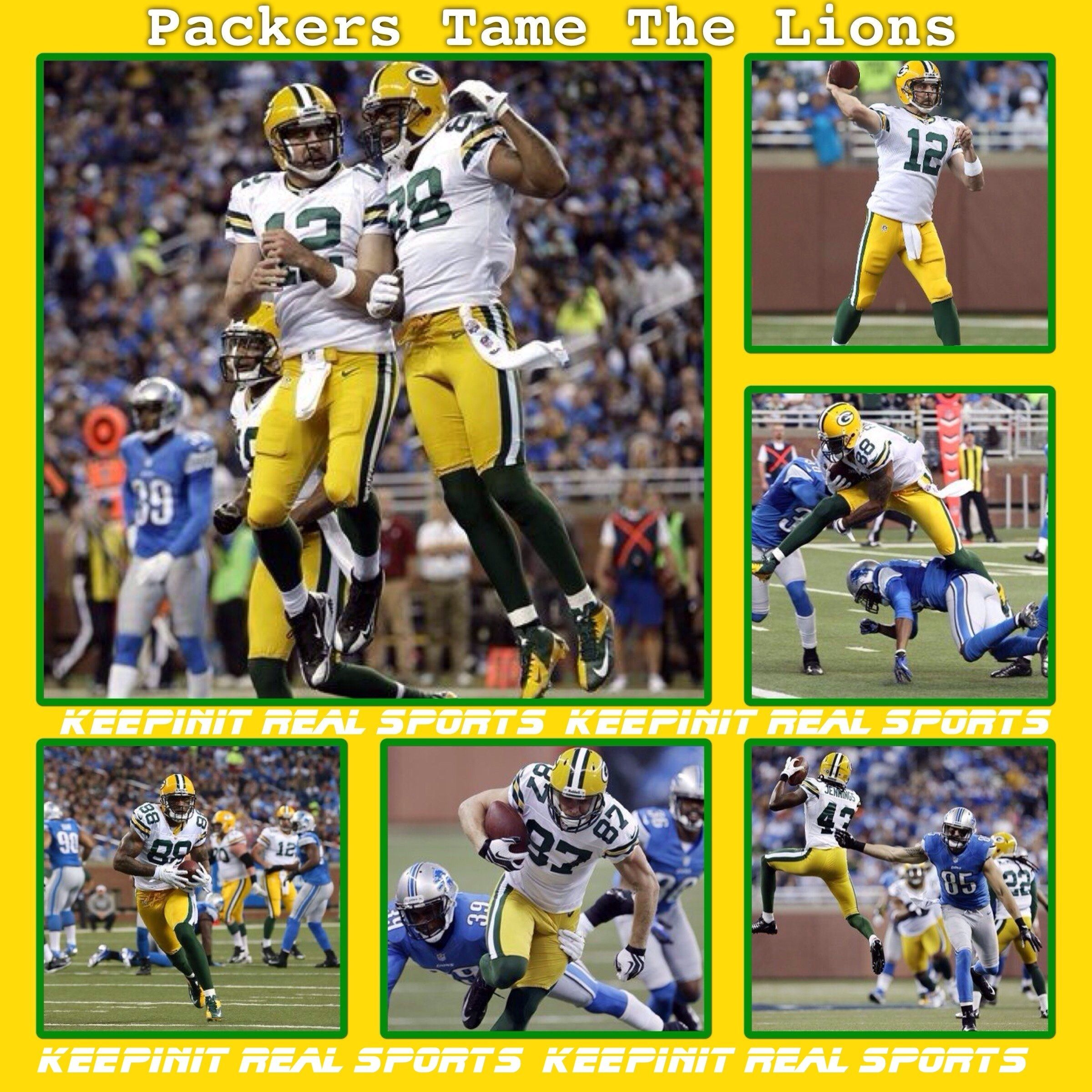 Keepinit Real Nfl Stats Packers Vs Lions Packers 24 7 3 3 2 Away Lions 20 4 6 2 2 Home Final Top Performers Passing M Staf Nfl Sports