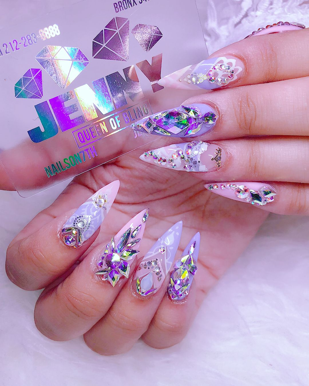 5,979 Likes, 22 Comments - Bling Jenny Bui (@nailson7th) on ...
