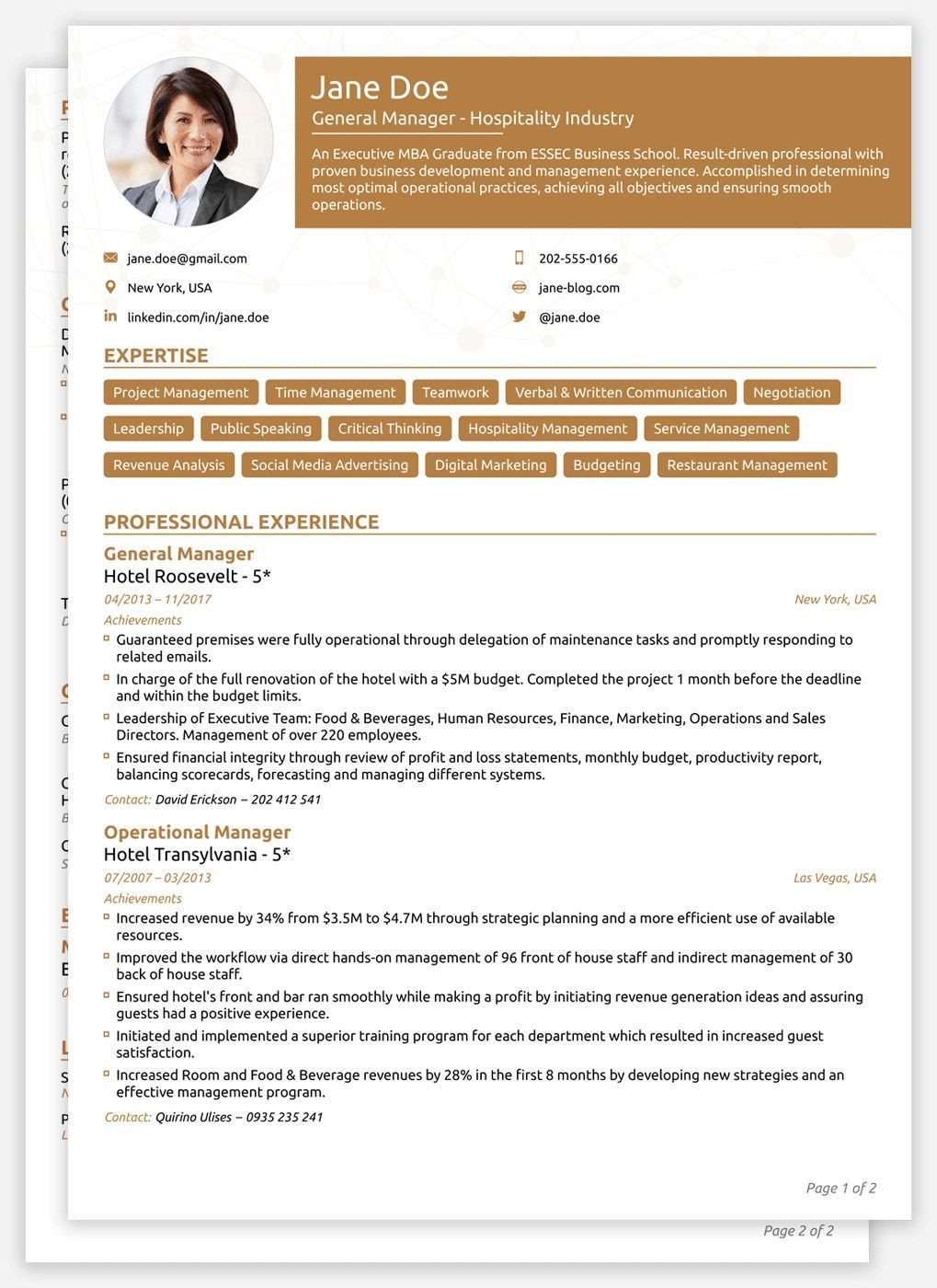 Pin by My Career Plans© on Create Resume free Resume