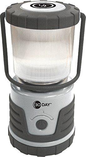 Wg14461 Brk 30 Day Lantern Silver Gray Ust Led Lantern Led Bulb Green Led