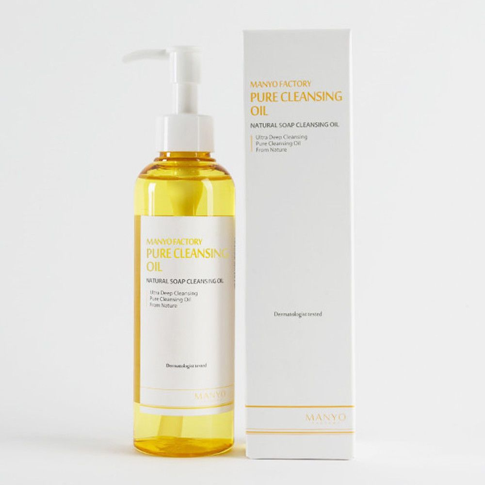 Manyo Factory Pure Cleansing Oil ml  Natural Deep Facial