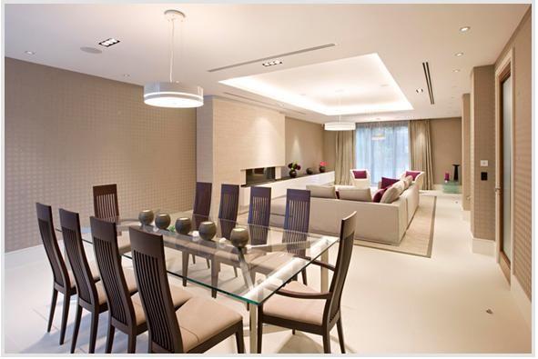 Living comedor minimalista dise os y arquitecturas for Disenos de salas y comedores modernos