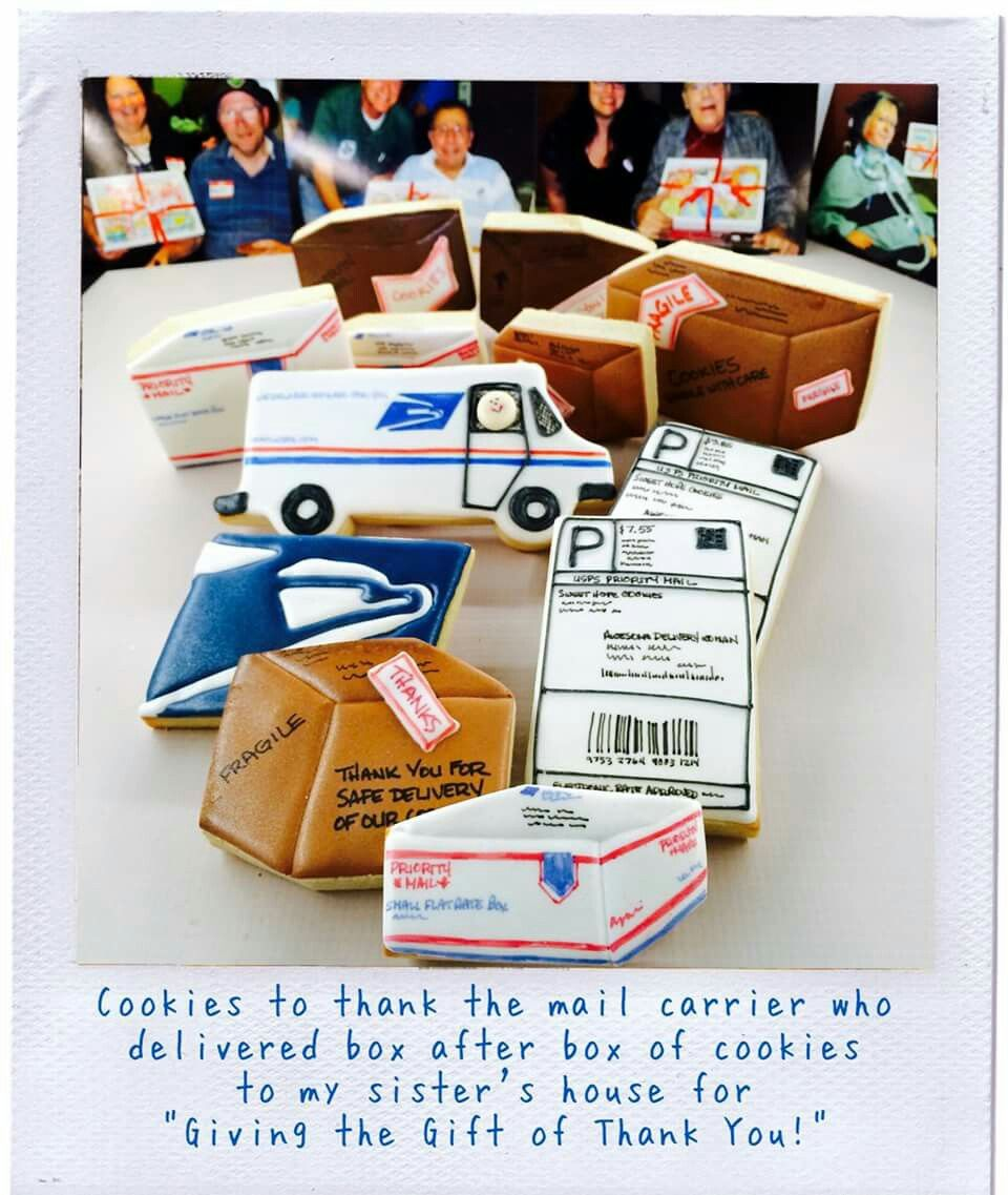 Sweet Hope Cookies: US Postal Service  USPS  Cookies for the mail