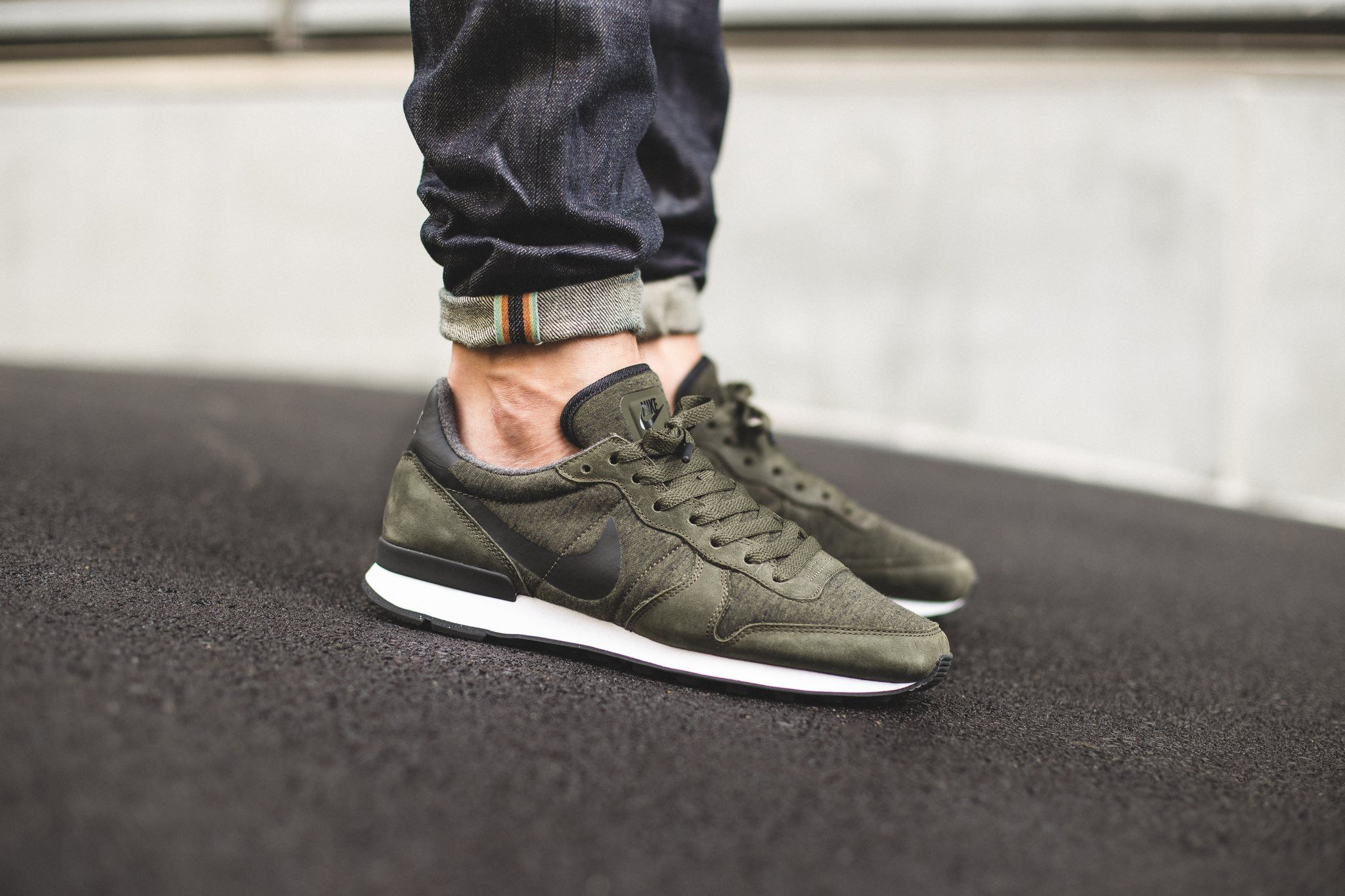 nike internationalist fleece mens