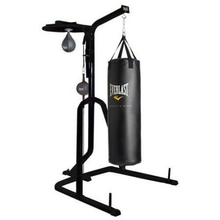 Everlast Single Station Heavy Bag Stand Perfect For Home Fitness Micro Gyms And Other