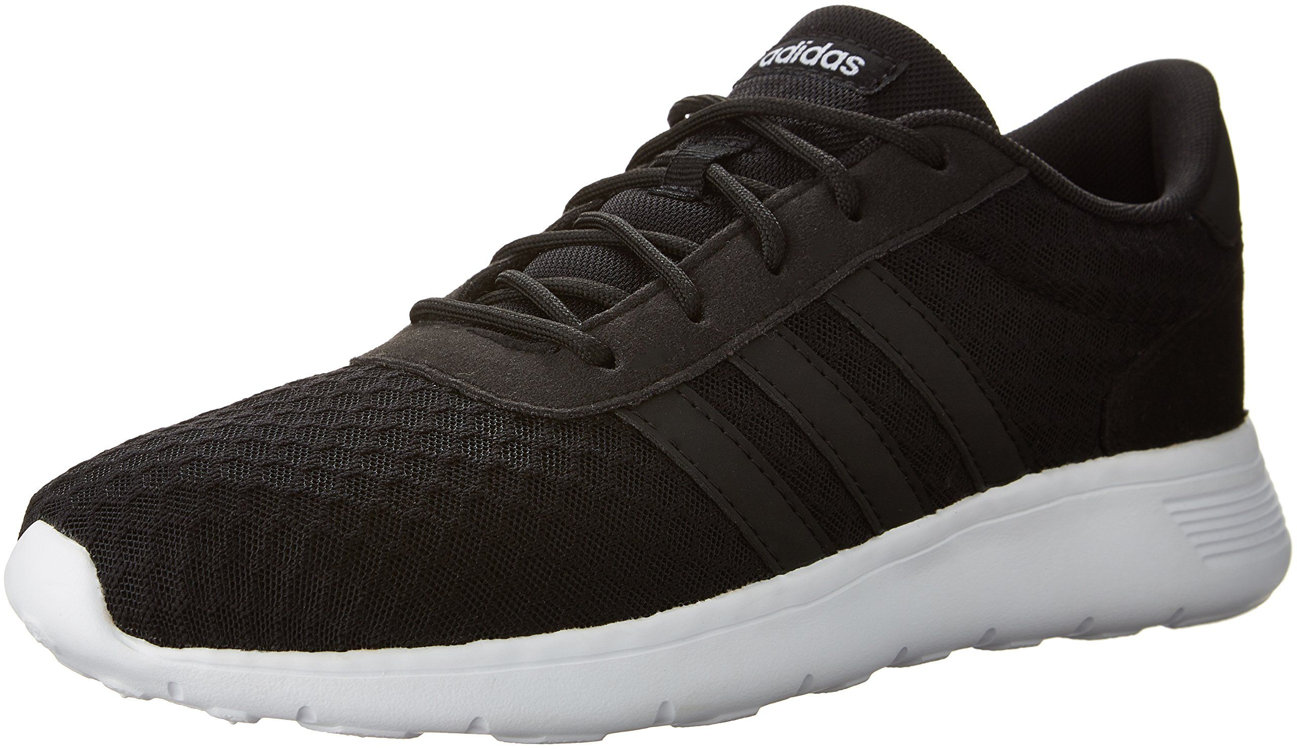 pretty nice 62366 93704 adidas NEO Womens Lite Racer W Sneaker Black White 8.5 M US -- Click image  to review more details. (This is an affiliate link)