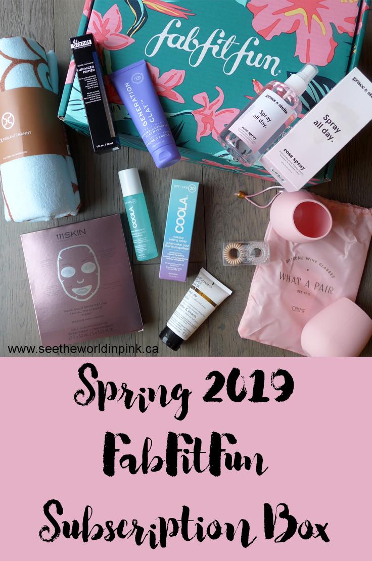 Summer 2019 FabFitFun Lifestyle Subscription Unboxing
