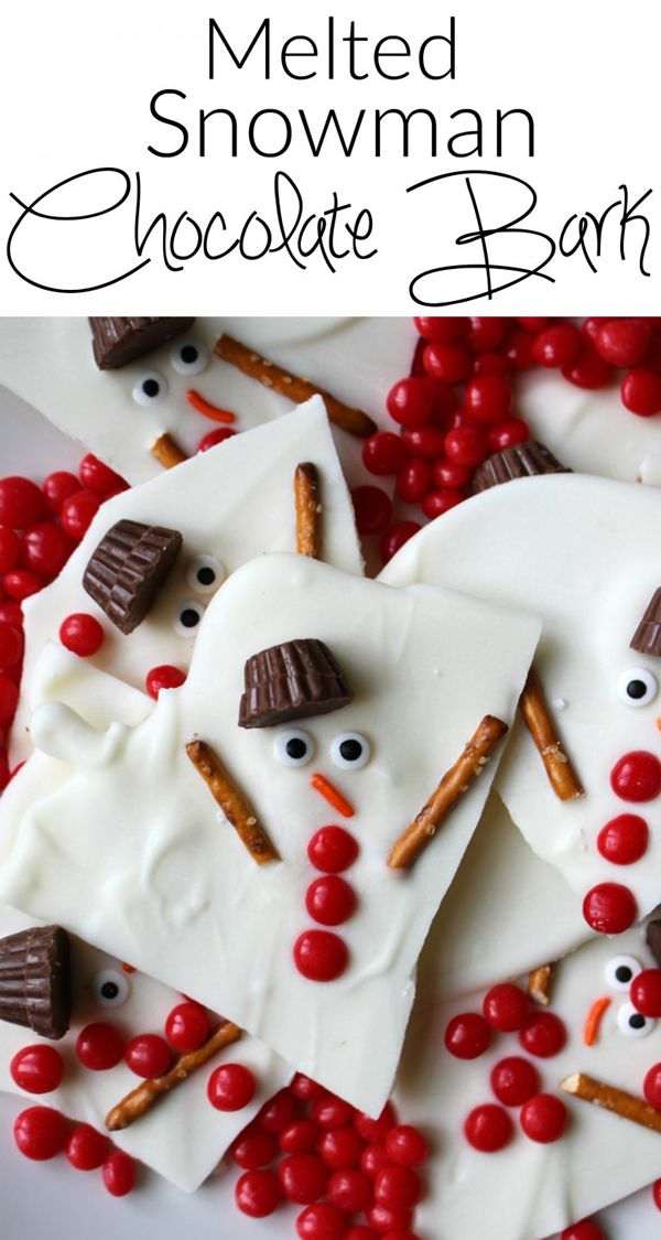 25 adorable Christmas treats to make with your kids | Pinterest ...