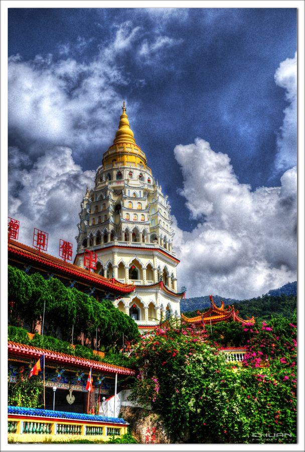 Pagoda at Kek Lok Si Temple   Penang, Malaysia