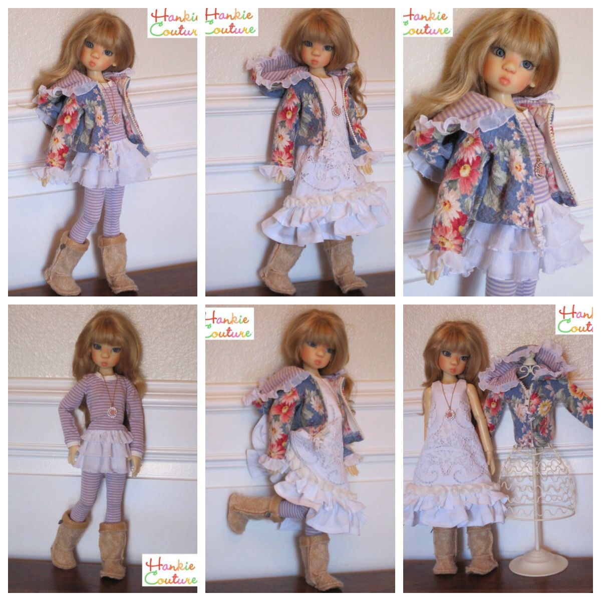 OOAK Handmade MSD BJD Outfit for Kaye Wiggs