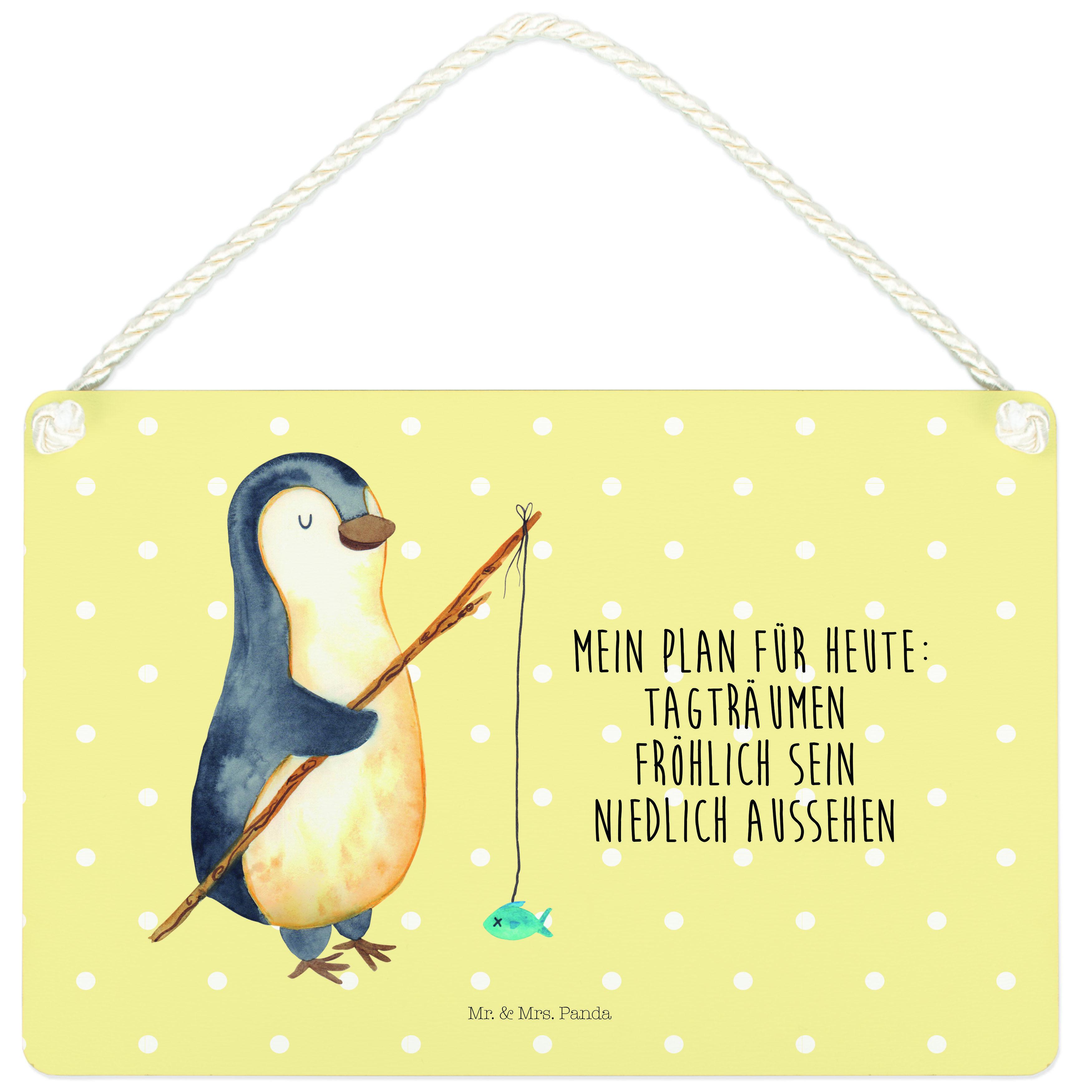 Deko Schild Pinguin Angeler aus MDF  Weiß - Das Original von Mr. & Mrs. Panda.  Ein wunderschönes Schild aus der Manufaktur von Mr. & Mrs. Panda - die Schilder werden von uns direkt nach der Bestellung liebevoll bedruckt und mit einer wunderschönen Kordel zum Aufhängen versehen.    Über unser Motiv Pinguin Angeler      Verwendete Materialien  Gefertigt aus widerstandsfähigem und hochwertigen Materialien    Über Mr. & Mrs. Panda  Mr. & Mrs. Panda - das sind wir - ein junges Pärchen aus dem Norden