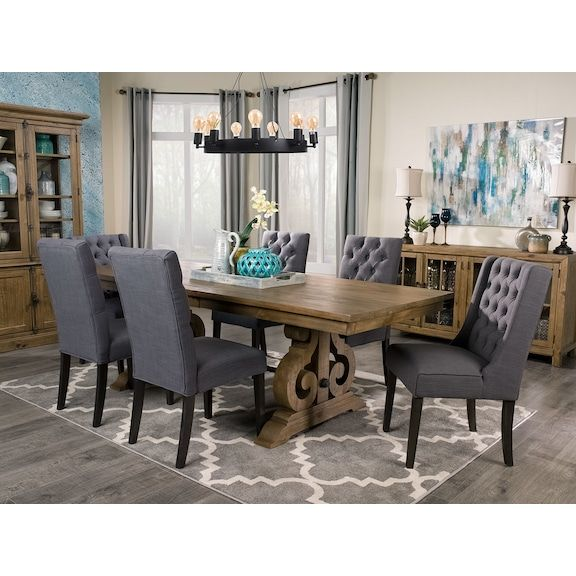 Keswick Dining Table  Formal Dining Rooms Accent Pieces And Dining Gorgeous Dining Room Accent Pieces Design Inspiration