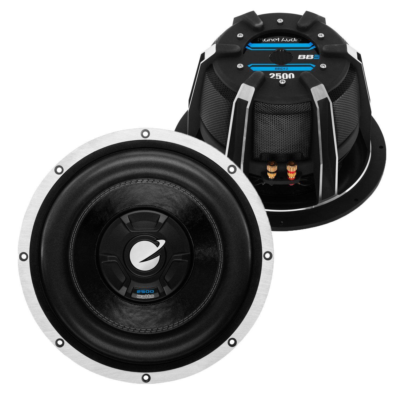 Planet Audio BBD12 2500 Watts 12\
