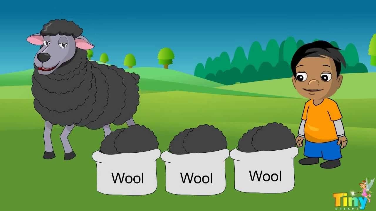 Baba Black Sheep   Animations   Pinterest   Black sheep, Baa baa ...
