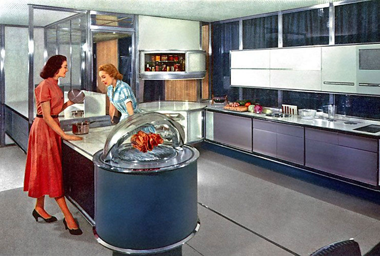 Kitchen Design Brands Interesting 5 Brands That Make Retrothemed Home Appliances  1950S Mid Design Decoration