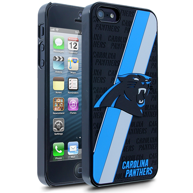 quality design 69ee9 35183 NFL Carolina Panthers Hard Case With Logo for Apple iPhone 5   fun ...