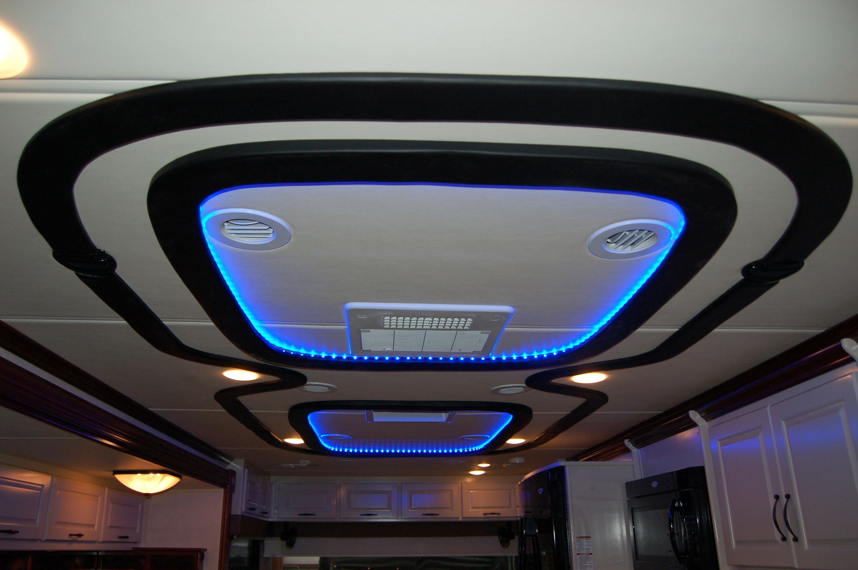 Ceiling With Color Changing Led Lights