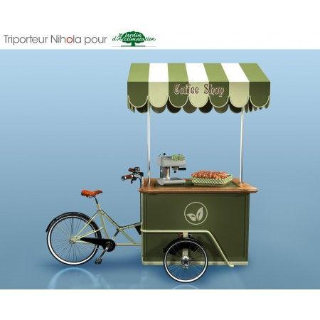 triporteur nihola de vente ambulante v los triporteurs. Black Bedroom Furniture Sets. Home Design Ideas
