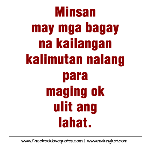 Tagalog Quotes: Tagalog Love Quotes And More Love Quotes