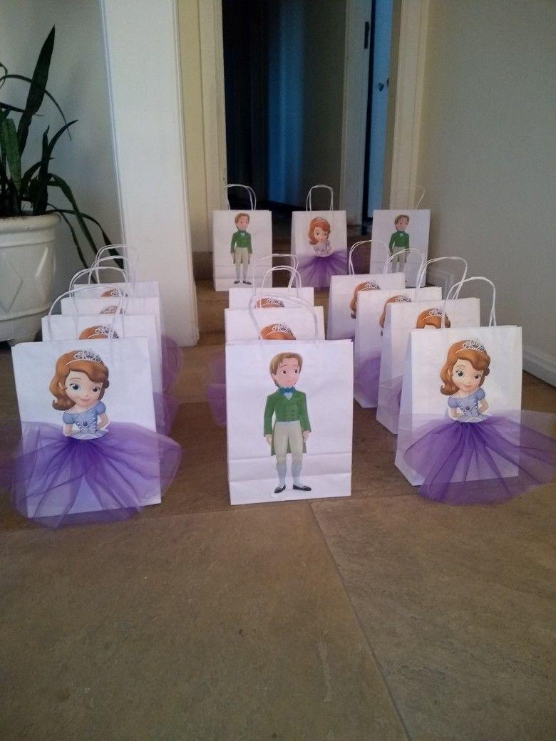 Sacolinha surpresa festa princesa sofia carvalho fondos - Foto princesa sofia ...