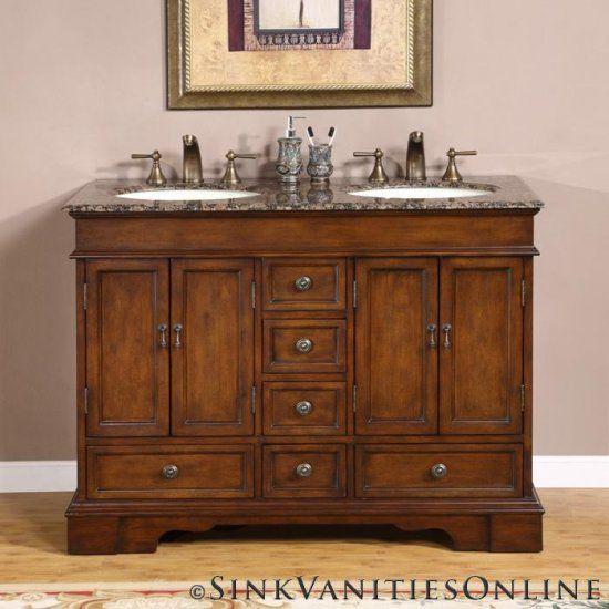 48 Double Sink Vanity Under 1000 Single Bathroom Vanity