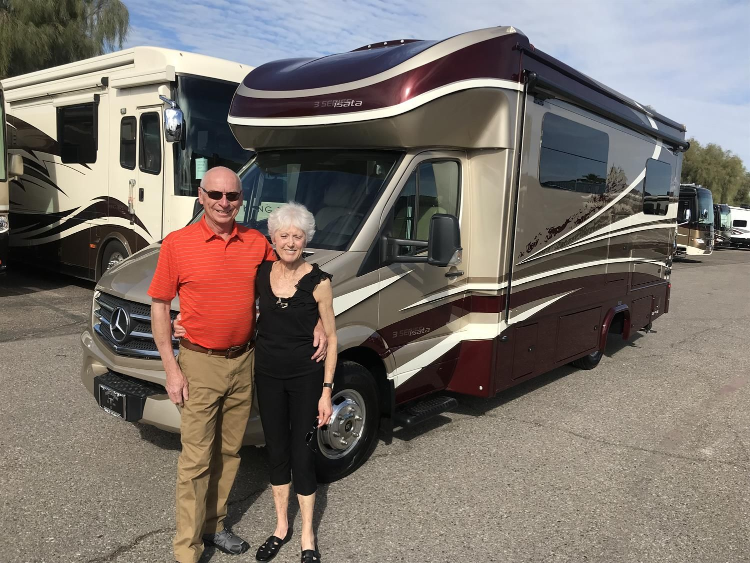 Ron Ruth Congratulations On Your New 2019 Dynamax Isata 3