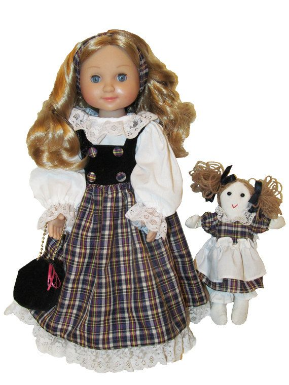 14 Inch Doll Melissa And Doug Mine To Love Country Dress