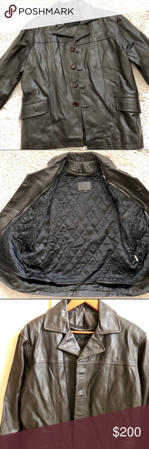 Wilsons Leather Jacket (With images) Wilsons leather