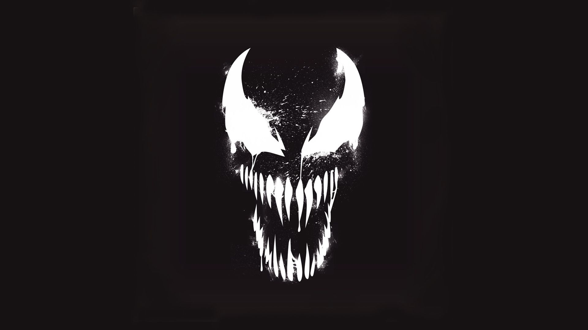 1920x1080 Venom Marvel Artistic Logo With Dark Background Hd Wallpapers Background Hd Wallpaper Marvel Comics Wallpaper Dark Backgrounds