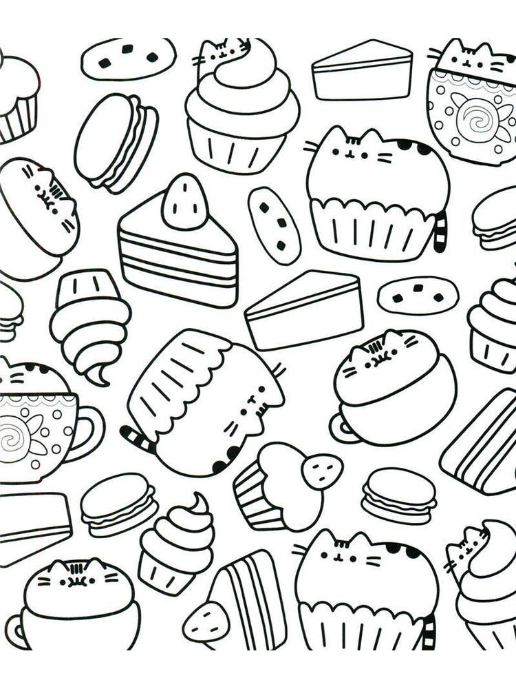 - Pusheen Coloring Pages Pdf. The Following Is Our Collection Of Easy Pusheen  Coloring Page. You… In 2020 Pusheen Coloring Pages, Disney Coloring Pages,  Cute Coloring Pages