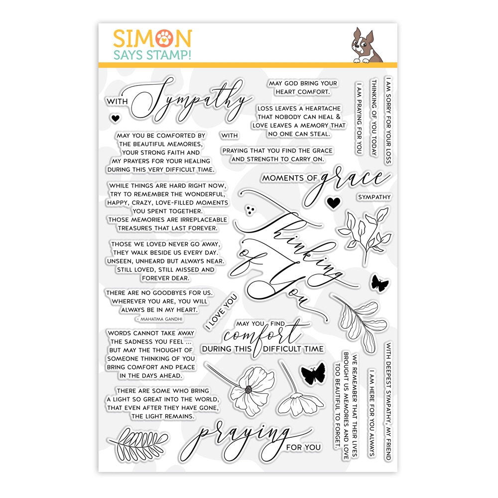 Simon Says Clear Stamps Moments Of Grace Sss201951 You Are Loved In 2021 Clear Stamps Simon Says Stamp