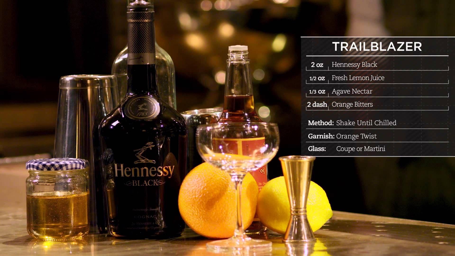 Hennessy Recipes Trailblazer Hennessy Drinks Hennessy Hennessy Cocktails