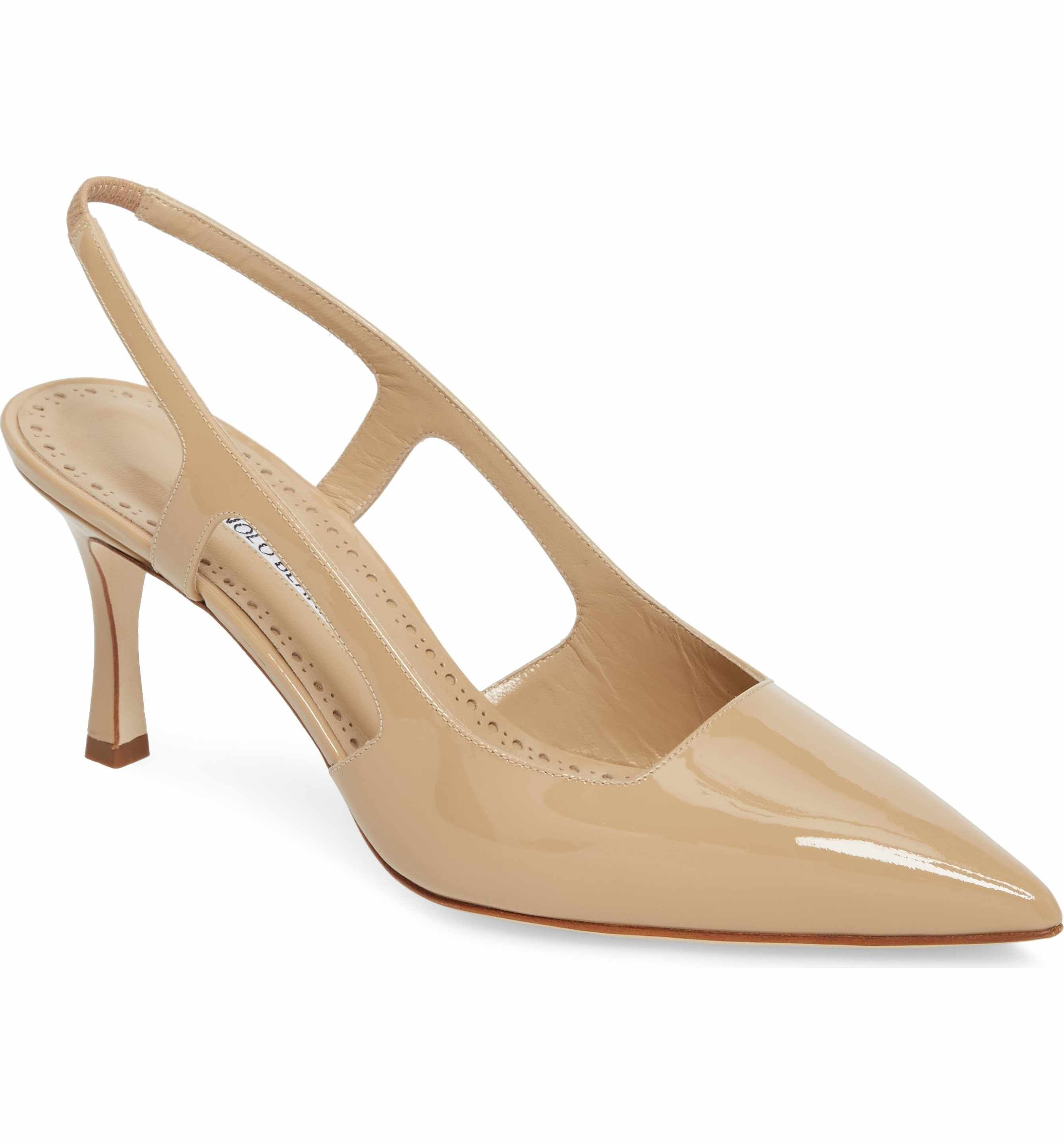 d2bb2011800 Main Image - Manolo Blahnik Bretto Slingback Pointy Toe Pump (Women ...