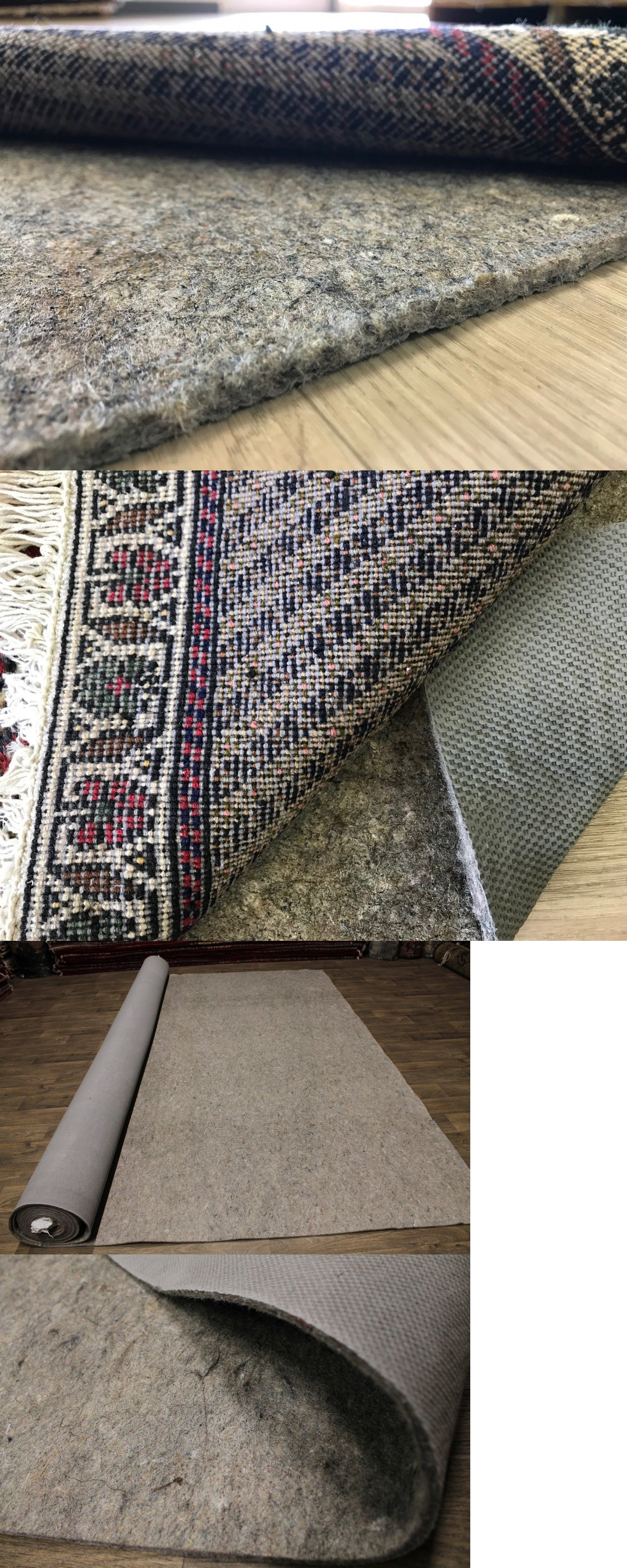 Details About Eco Friendly Non Slip Extra Cushioned Rug Pads For