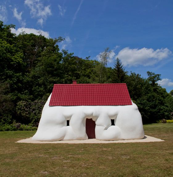 casa - balón arquitectura imposible arte contemporáneo architecture art wtf miraquechulo