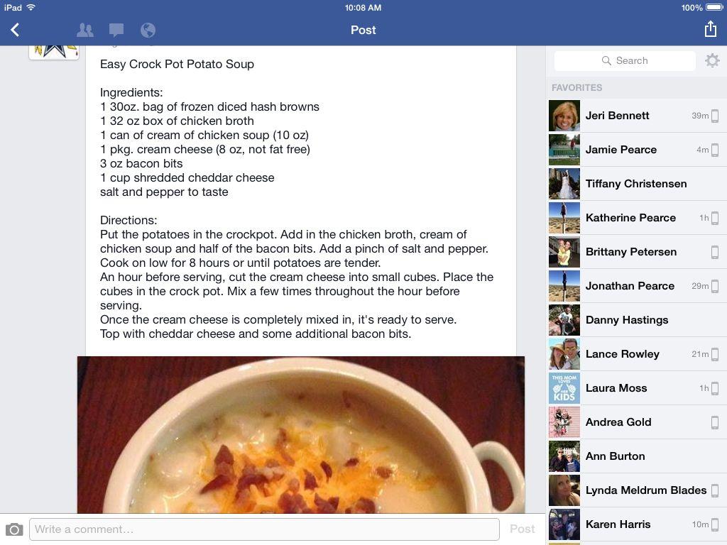 Potatoe soup