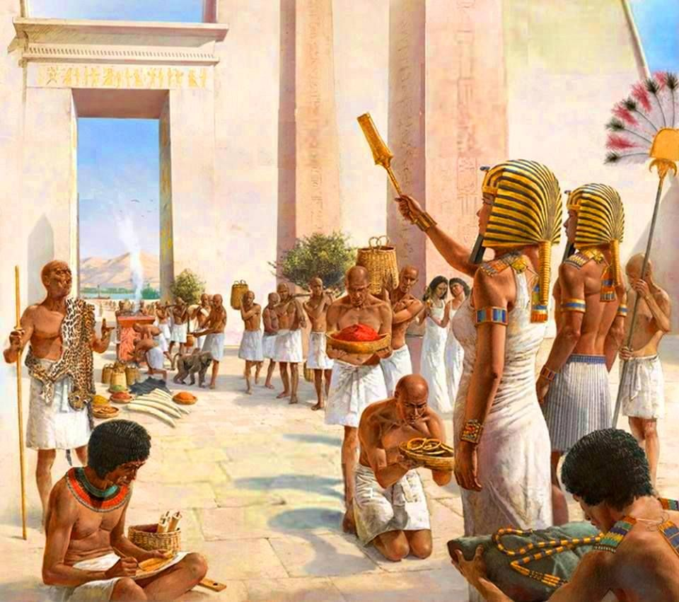 его помощью картинки жизнь фараона в древнем египте вид
