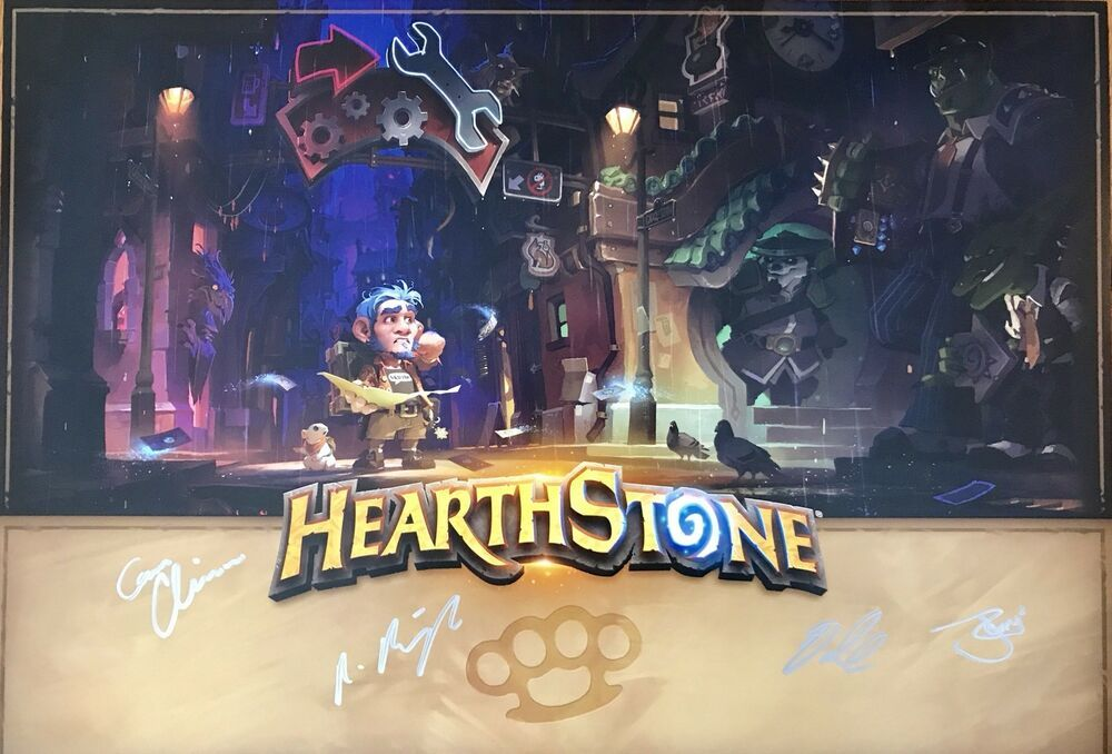 blizzcon poster 2016 hearthstone