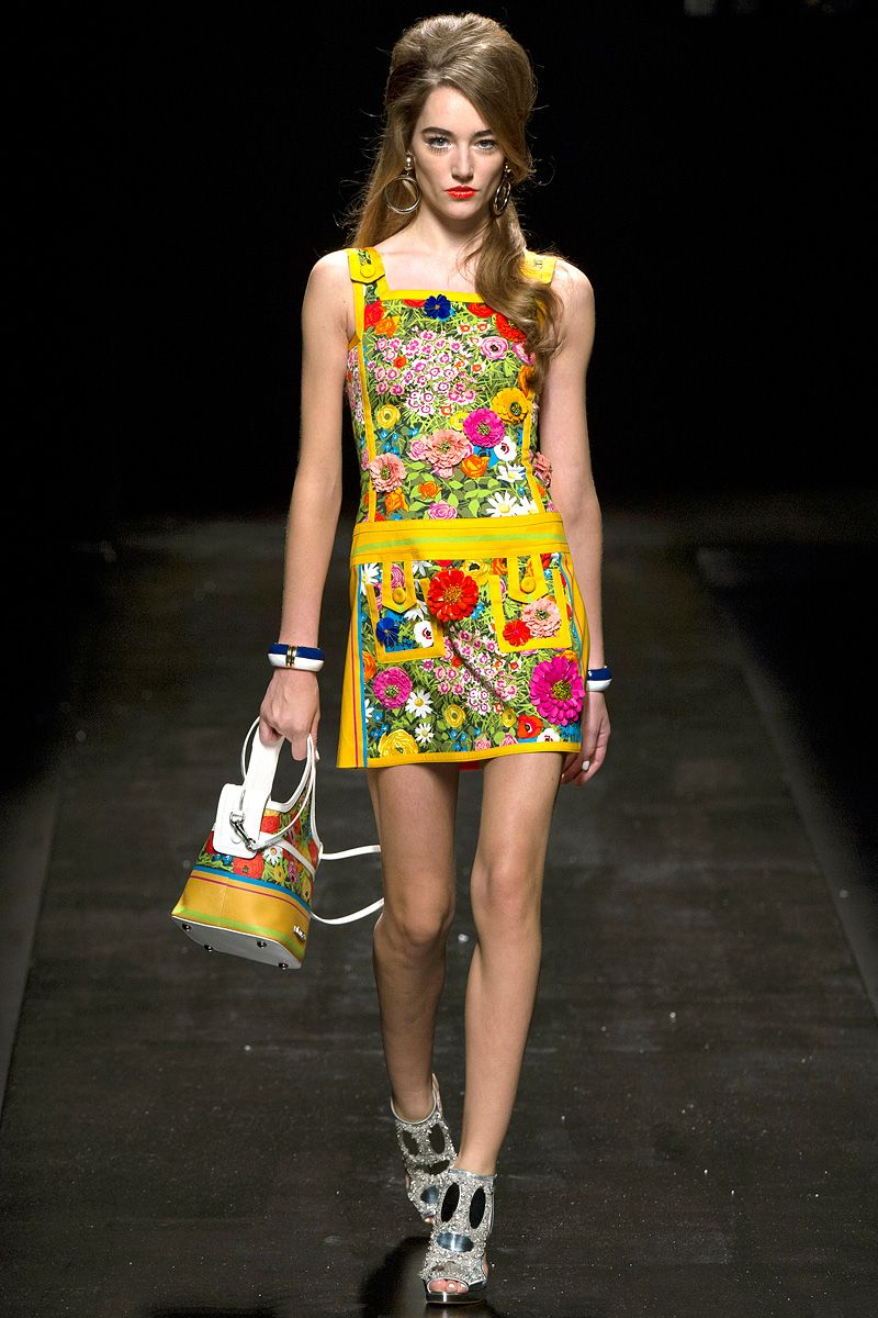 Moschino Spring 2013 RTW - Review - Collections - Vogue  digitally printed