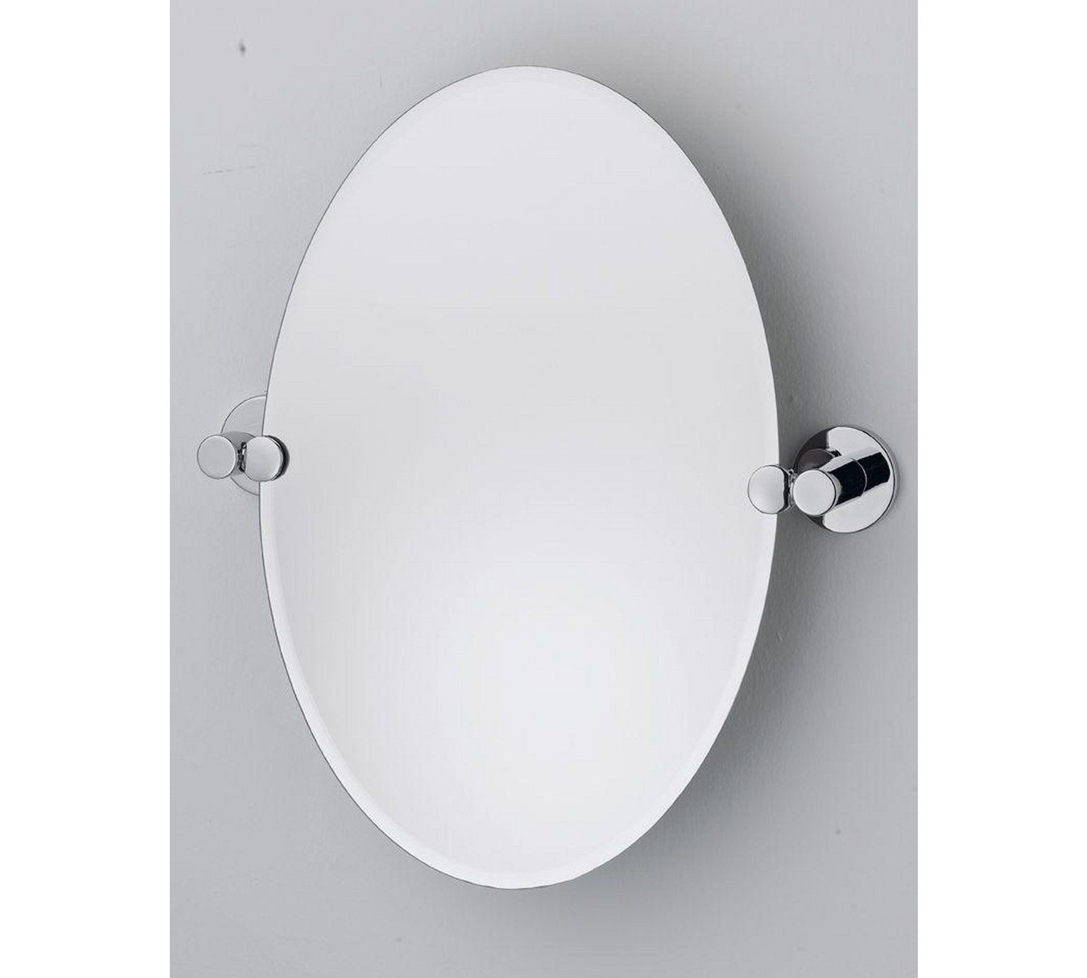 Buy Collection Oval Tilting Bevelled Bathroom Mirror at Argos.co.uk ...