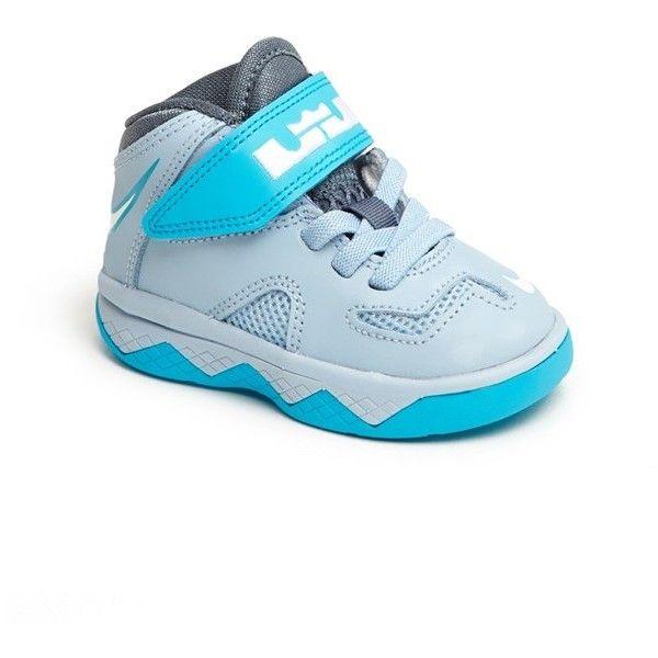 Nike LeBron XII Crib Shoe (Baby Boys | Baby boy shoes, Baby