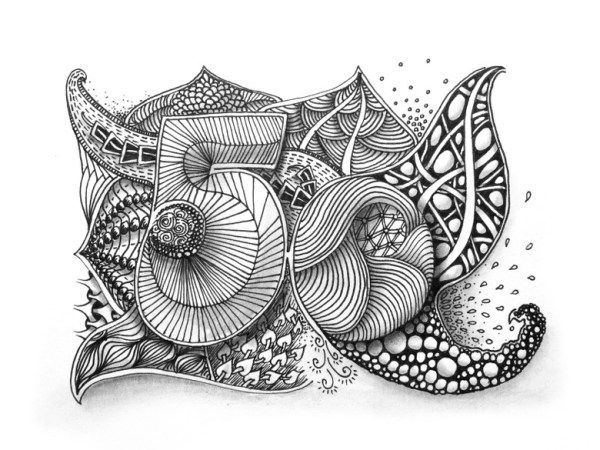 zentangle inspired art | inspirierende kunst, ideen zum 50