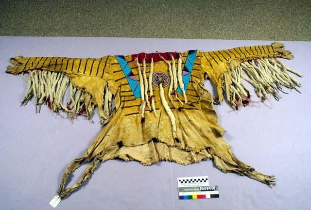 Blackfoot shirt n.d. Harvard Collections.