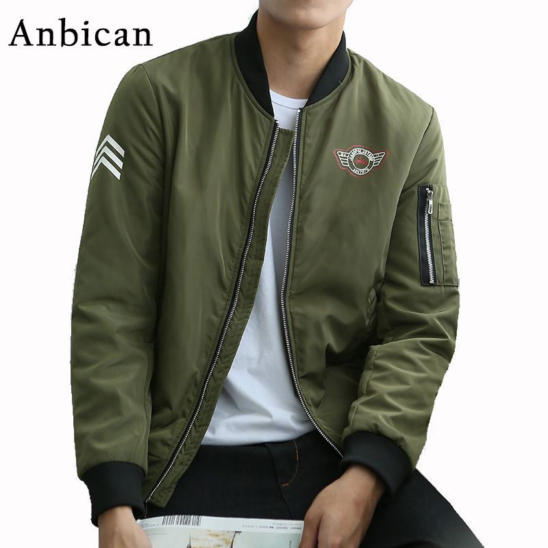 Military Jacket Men Spring Autumn Cotton Windbreaker Pilot Coat Army Men Bomber