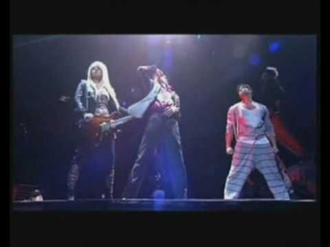 "MICHAEL JACKSON'S ""This Is It"" Tour. This is the rehearsal scene  ""They Don't Care About Us"" performed 48 hours before his death. If you haven't seen the movie/concert ""This Is It"" it is excellent. Would have been a great tour. RIP Michael."