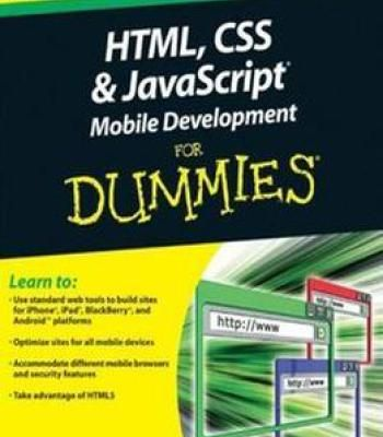 Html Css And Javascript Mobile Development For Dummies Pdf Mobile Development Javascript Css