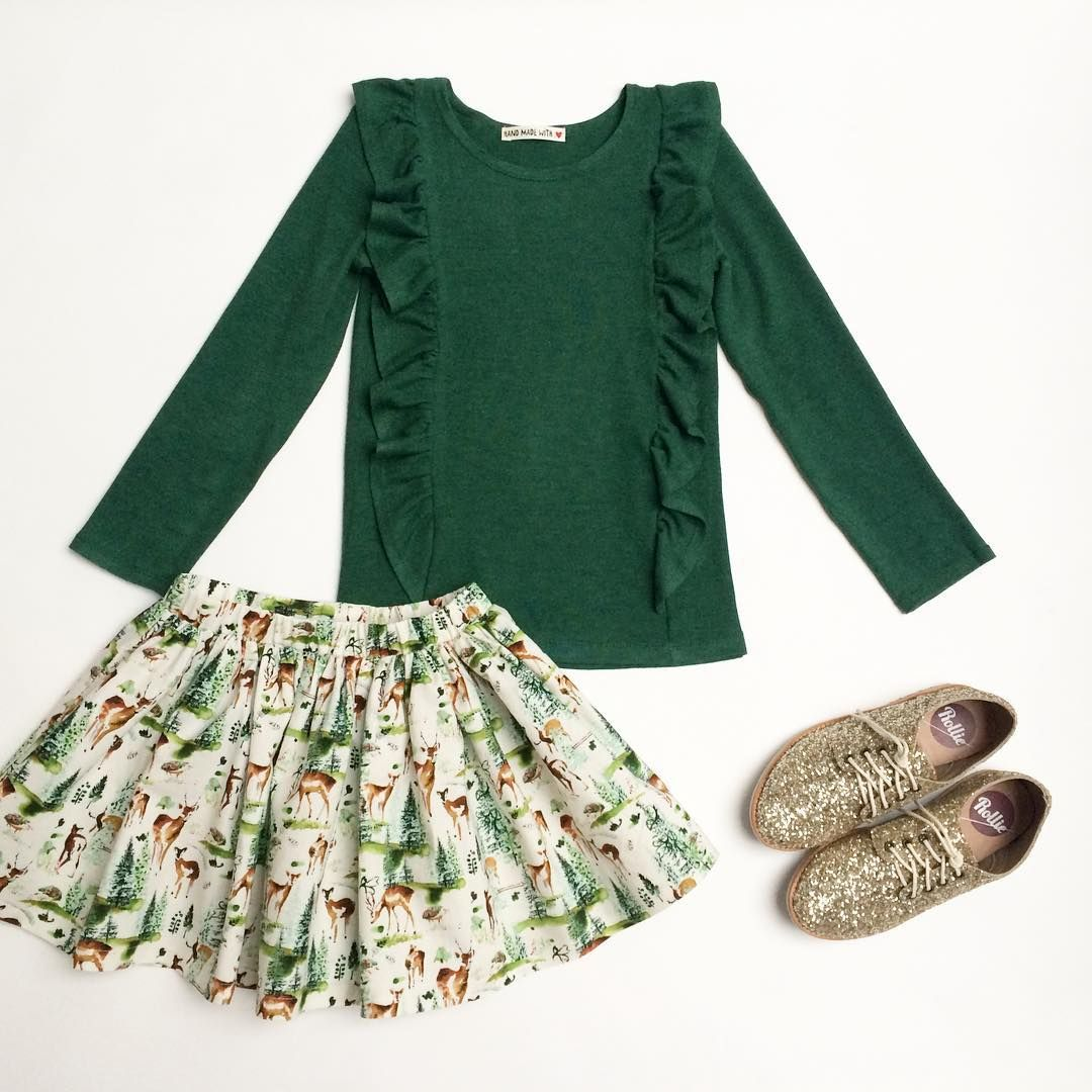 Simple gathered skirt fabric kokka julijaus shop top based on