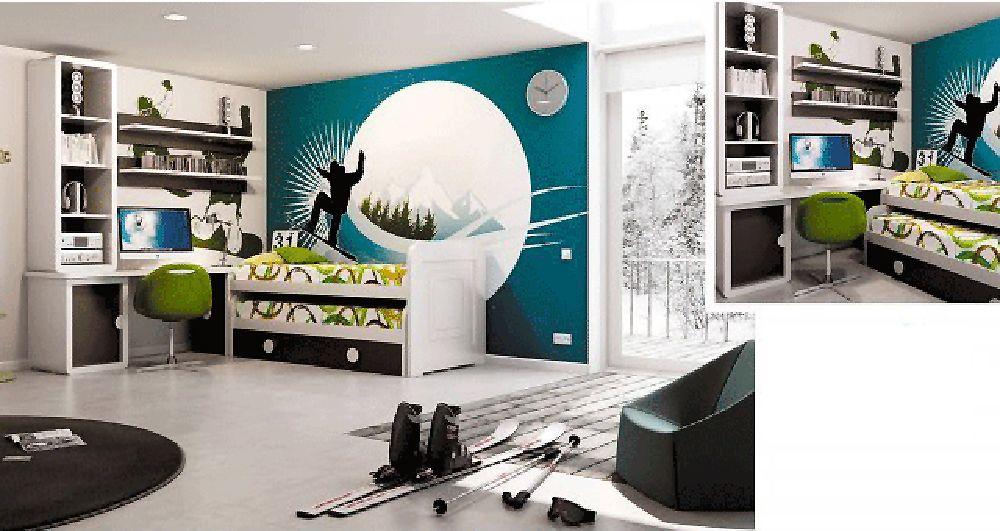 Ideas decoración de dormitorios juveniles | Dormitorios Juveniles ...